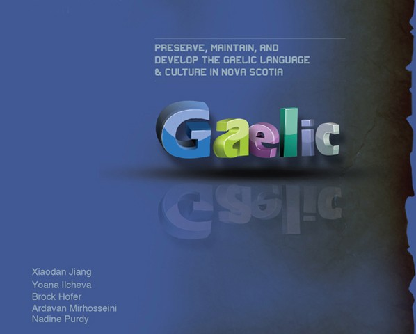 The Design Issue Study of Gaelic Culture