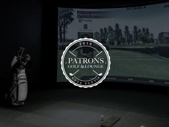 Patrons golf & Lounge Branding