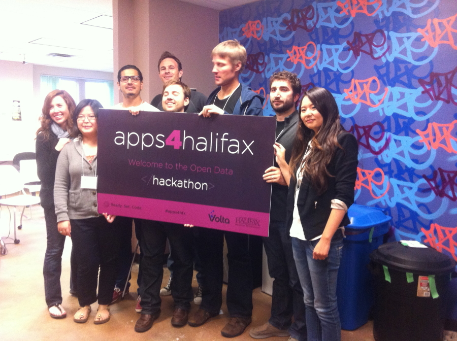 Impressions from the Volta Apps4Halifax Hackaton