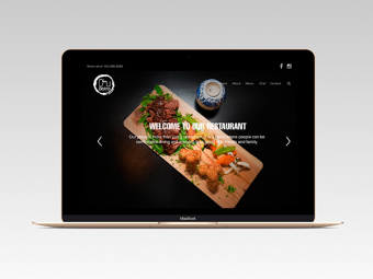 Chi Bistro Website Design